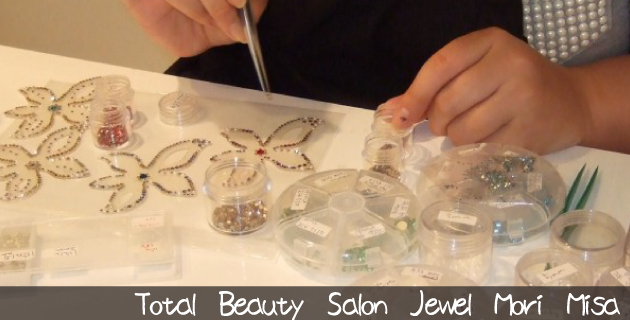 のハンドメイド作家『TotalBeautySalon Jewel MoriMisa』