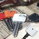 LEATHER KEY COVER ホワイト