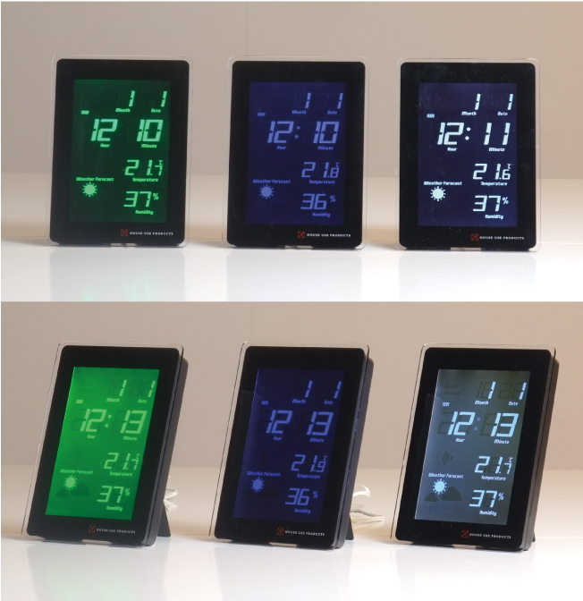 LCD RADIO CLOCK TIDEの説明01