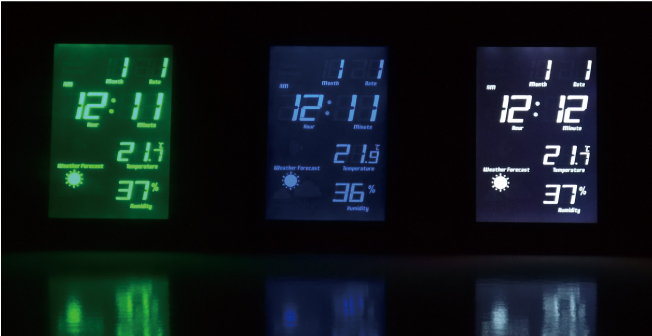 LCD RADIO CLOCK TIDEの説明02