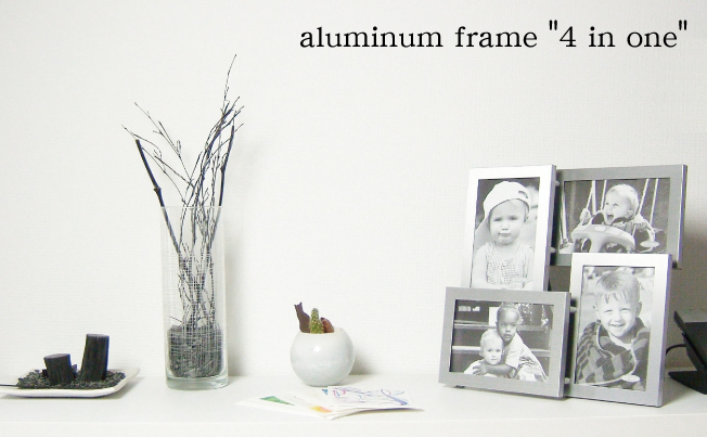 "aluminum frame ""4 in one"""